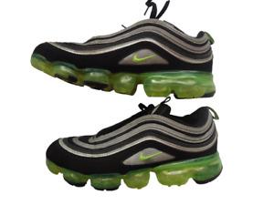 Nike Air Vapor Max 97s black trainers UK 7