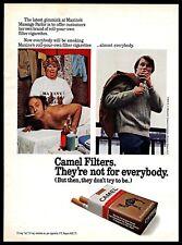 1972 Camel Filters Cigarettes Vintage PRINT AD Maxine's Massage Parlor 1970s