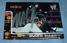 Matt Hardy Signed 2002 Fleer Royal Rumble WWE Card #19 Autograph Pro Wrestling