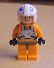 Lego Star Wars Dack Ralter Figur Rebellen Pilot orange Piloten Figuren Neu