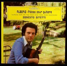 Albeniz Ernesto Bitetti LP & CV NM -