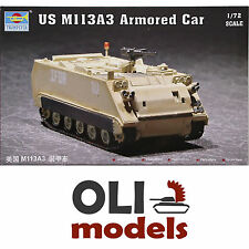 1/72 US M113A3 / M113 A3 Armored Personnel Carrier APC - Trumpeter 07240