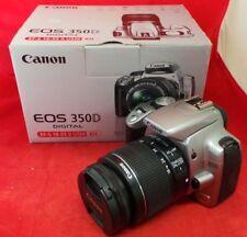 Canon EOS 350D 8.0MP DSLR Camera w/ EFS 18-55mm Lens