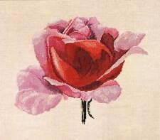 Kit de Punto de Cruz Pink Rose XC1042 de DMC