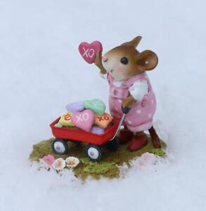 """Wee Forest Folk M-706a """"Loads of Love"""" Girl"""