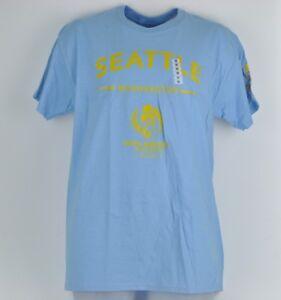 Copa America Centenario USA 2016 Seattle Washington Baby Blue Medium Tshirt