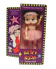 Vintage Betty Boop Ballerina Fashion Doll With Original Box 1986