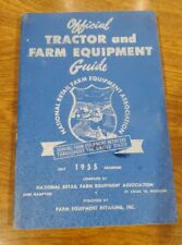 Vintage Official Guide Tractors And Farm Equipment 1955