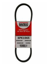 Serpentine Belt-Rib Ace Precision Engineered V-Ribbed Belt BANDO 6PK1065