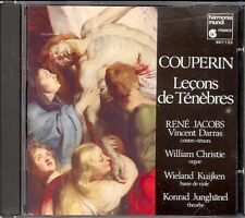 COUPERIN - Lecons De Tenebres / CLARKE / PURCELL - 2 Hymns - Rene JACOBS