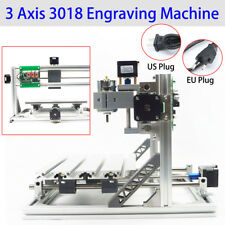 3 ASSI fai da te Desktop CNC Router KIT 3018+ INCISORE MINI Incisione Fresatrice