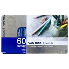 JAPAN Van Gogh T9773-0065 Colored Pencils 60 Colors Art W/ TRACKING