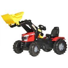 Rolly Toys Massey Ferguson 8650 trattore con Front caricatrici Trettraktor ROSSO
