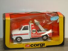 Ford Transit Tow Truck 24 Hours Service - Corgi 1140 England in Box *41224