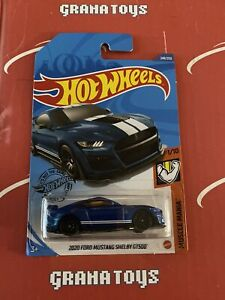 2020 Ford Mustang Shelby GT500 #248 Blue 1/10 Muscle 2020 Hot Wheels Case Q