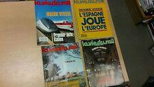 lot 4 magazines vie du rail années 80 special EUROPE ESPAGNE ITALIE port offert