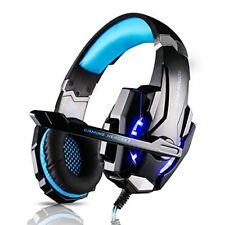 Casque Gamer Leshp Micro Casque Ps4 Gaming Audio Stéréo basse avec LED Lampe L