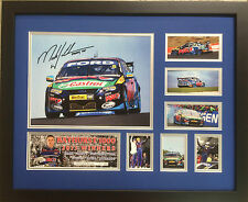 MARK WINTERBOTTOM BATHURST 2013 SIGNED LIMITED EDITION FRAMED MEMORABILIA