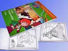 Hexe Lilli in der Zauberschule, 40 Blatt Malbuch 20x15cm, Ausmal Vorlagen