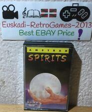 "Amstrad : "" Spirits"" TOPO SOFT CASSETTE Versión Esp. 1987"