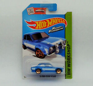 HotWheels Diecast 2015 - Fast & Furious FORD ESCORT RS1600 - NEW - Sealed