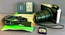 Canon PowerShot SX230 HS 12.1MP Digital Camera Black BUNDLE