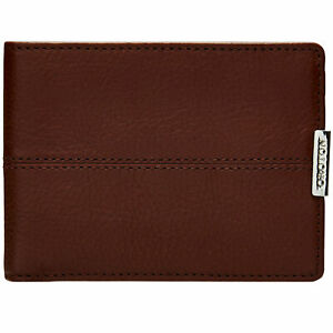 Oroton Austere Mini Wallet - Chocolate Brown - Men's Wallet - Genuine Leather