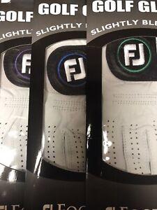 FootJoy  StaSof Golf Gloves Slightly Blemished Med 6-pack LH for RH Golfer