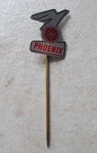 PHOENIX Netherlands bicycle bike hat pin lapel tie tac hatpin pins 1960