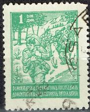 Yugoslavia WW2 Soldiers stamp 1945