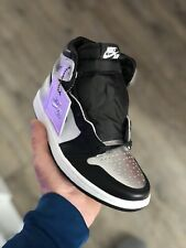 ✅ Nike Air Jordan 1 Retro High SILVER TOE Gr. 36,5 ✅ Sofort versandfertig