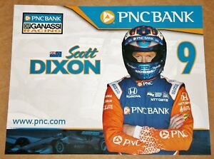Scott Dixon 2018 Indy Car Hero Card Photo #9 Ganassi PNC Bank Indianapolis 500