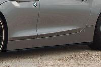 CUP Seitenschweller Schweller Sideskirts Schwert aus ABS BMW Z4 E89 M-Paket