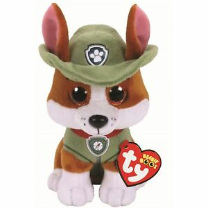 Ty Beanie Babies 41299 Paw Patrol Tracker the Brown Chihuahua Dog Regular