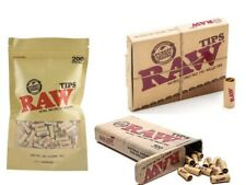 More details for raw pre rolled tips filter roaches paper natural rolling perfecto option tin