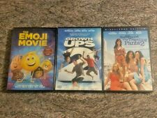 3 DVD Lot: The Emoji Movie, Grown Ups 2, Sisterhood of the Traveling Pants 2 NEW