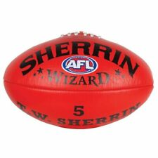Sherrin AFL Wizard Football, Size 5 - Red