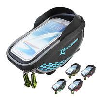 ROCKBROS Bicycle Handlebar Bag Pannier for Touchscreen Bike Phone Holder Bag