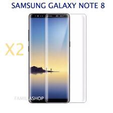 Lot de 2 Films Protection Entier Incurvé Pour Samsung Galaxy Note 8