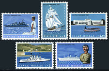 Greece 896-900, MNH. Maritime Week. Ships, 1967