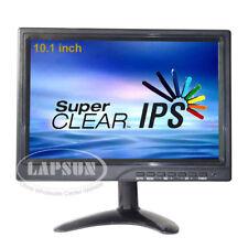 "10.1"" IPS HD LCD HDMI VGA DVI Portable Monitor Screen 1280 *  800 PC CCTV Car US"