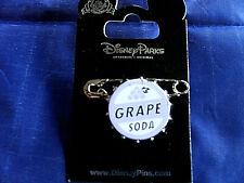 Disney * UP! - GRAPE SODA BOTTLE CAP & PIN * New on Card...