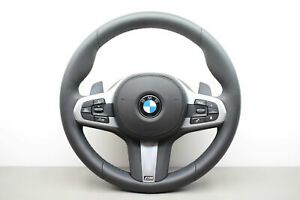 BMW 5 G30 G31 MSport Leather Multifunction Steering Wheel With SRS OEM 309026499