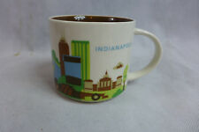 Starbucks Mug You Are Here Collection Indianapolis 2013 Ferris Wheel Pre-Owned