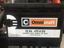 BATTERIA AUTO ORIGINALE FORD OMNICRAFT 52 AMP 470 AMPRE SPUNTO