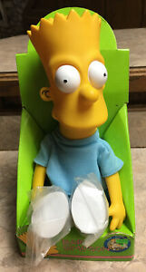 Bart Simpson Dan Dee Doll Figure VTGV 1990 Collectible New Box SHOES IN PLASTIC