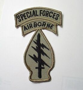 US Army Special Forces Shoulder Sleeve Patch  Afghanistan Afghan Patch (mont)b