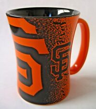San Francisco Giants Coffee Tea Cup Mug 14 oz Boelter Brands 2017 Orange - Black