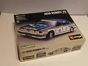 """° BURAGO KIT #5119 - Alfa Romeo 75 """"Australian"""" - scala 1/24"""