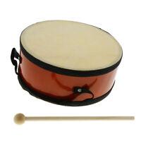 Durable Mini Handheld Indian Drum 20 x 8cm Hand Percussion Instrument